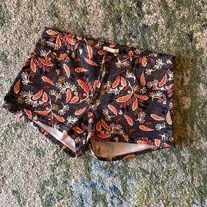 H&M Size 10 Paisley shorts